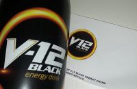 V12 Black Energy Drink dando show de sabor e visual