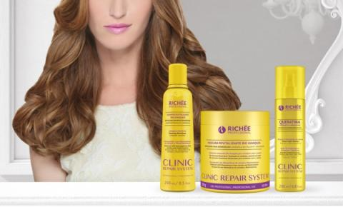 Richée Professional apresenta Clinic Repair System!